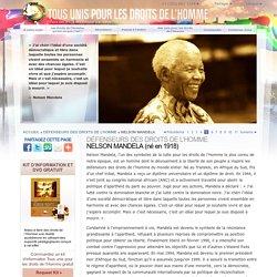Un défenseur des droits de l'Homme — Nelson Mandela