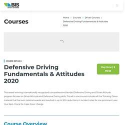 Defensive Driving Fundamentals & Attitudes 2020