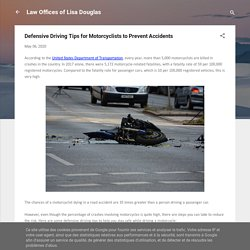 Defensive Driving Tips for Motorcyclists to Prevent Accidents
