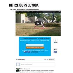 Défi 21 jours de Yoga