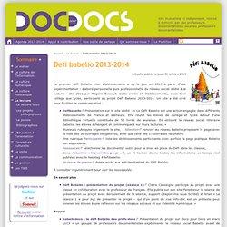 Defi babelio 2013-2014