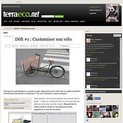 Défi #1: Customiser son vélo