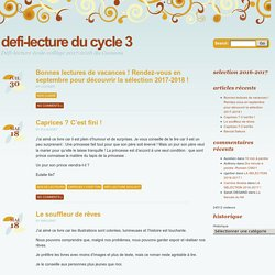 Défi Lecture au Cycle 3