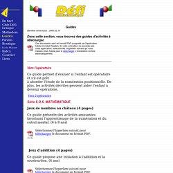 Défi mathématique - Guides