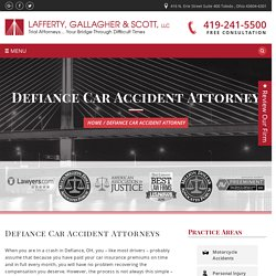 Car Accident Attorney Defiance