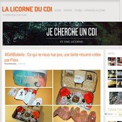 #DéfiBabelio : Ce qui ne nous tue pas, une boîte-résumé créée par Flora