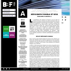 Déficients visuels et RFID