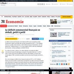 Le déficit commercial français se réduit, petit à petit