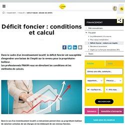 Déficit foncier : conditions, calcul, charges déductibles