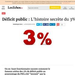 Déficit public: L'histoire secrète du 3%