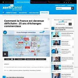 Comment la France est devenue déficitaire : 25 ans d'échanges commerciaux