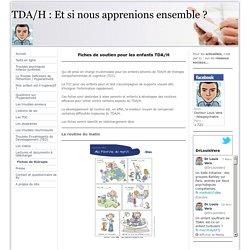 Trouble Déficitaire de l'Attention avec ou sans Hyperactivité - TDA/H Paris - Fiches de thérapie