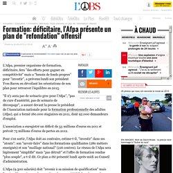 """Formation: déficitaire, l'Afpa présente un plan de """"refondation"""" offensif - 24 septembre 2012"""