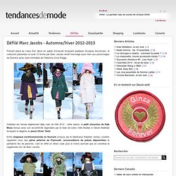 Défilé Marc Jacobs - Automne/hiver 2012-2013