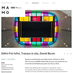 Défini Fini Infini, Travaux in situ, Daniel Buren – MAMO