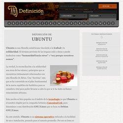 Definición de Ubuntu