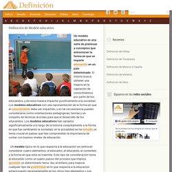 Definición de Modelo educativo - Qué es y Concepto