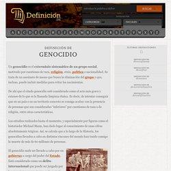 Definición de genocidio