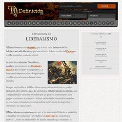 Definición de liberalismo