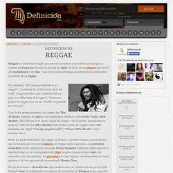 Definición de reggae