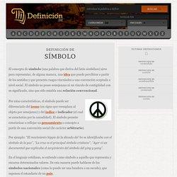 Definición de símbolo