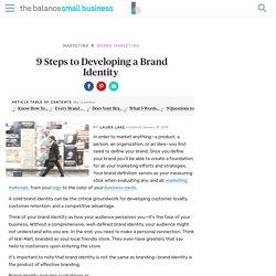 Defining Your Brand Identify Is Key in Marketing