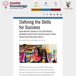 Defining the Skills for Success