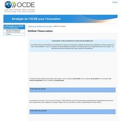Stratégie de l'OCDE pour l'innovation