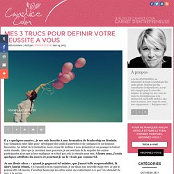 Le blog de Candice Colin : carnet d'entrepreneuse