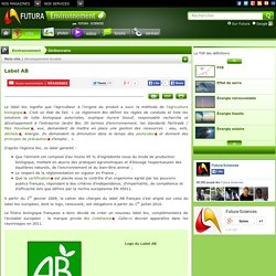 Label AB - Label Agriculture Biologique - Label Bio