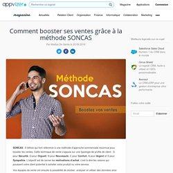 Méthode SONCAS ▷ définition, exemple pour vos argumentaires et techniques de vente