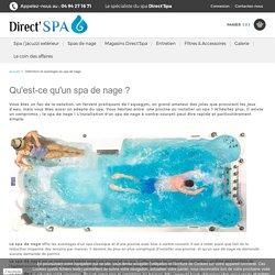 Définition et avantages du spa de nage - DIRECT SPA