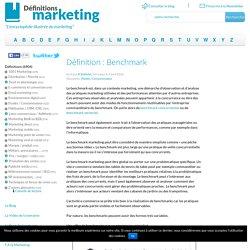 Définition Benchmark : Le glossaire du marketing