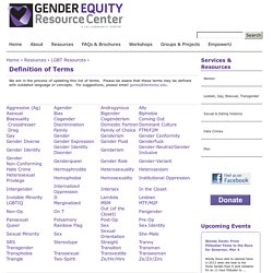 UC Berkeley Gender Equity Resource Center