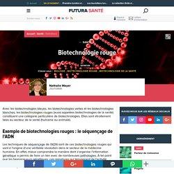Biotechnologie rouge - Biotechnologie de la santé