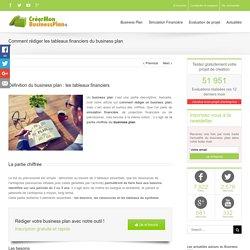 Définition du business plan : les tableaux financiers