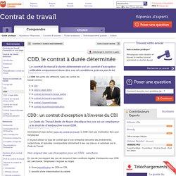 CDD : définition et caractéristiques du contrat à durée déterminée
