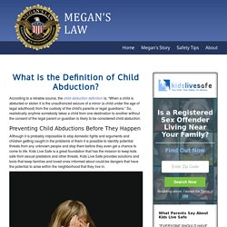 What is the Definition of Child Abduction?