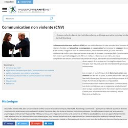 Définition de la communication non violente (CNV)