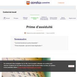 Prime d'assiduité : définition et conditions - Ooreka