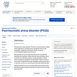 Post-traumatic stress disorder (PTSD): Treatments and drugs