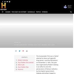 Gunpowder Plot - Treason, Definition & Conspirators