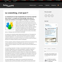 Definition du coworking (Rueil 92 Coworking)