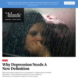 Why the Definition of Depression Isn't Working