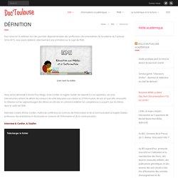 Définition – Doc'Toulouse