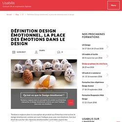 Définition Design émotionnel, la place des émotions dans le design