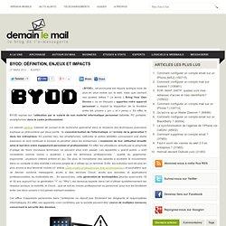 BYOD: définition, enjeux et impacts