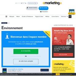 Définition Environnement - Le glossaire Emarketing.fr