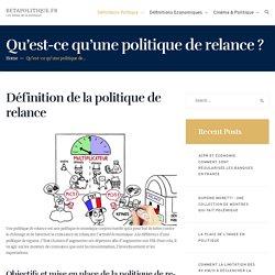 Politique de Relance : Définition & Explications