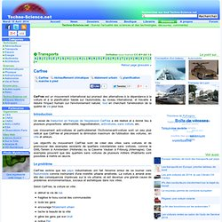 Carfree - Définition - Encyclopédie scientifique en ligne